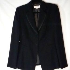 Calvin Klein size 4 Black Blazer